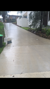 Concrete Cleaning Gold Coast: Driveway After