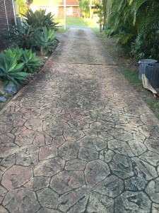 Before concrete resurfacing gold coast driveway